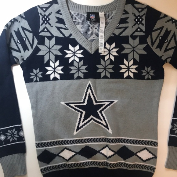 6259b8ea39d Dallas Cowboys Ugly Christmas Sweater. M 5bd9bbdf2e14784c94fef07b